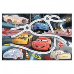 Trefl-75110 Cars - Puzzle + Magic Marker