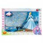 Trefl-75112 Disney Princess - Puzzle + Magic Marker