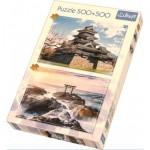 Trefl-90677 2 Puzzles - Japon
