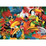 Puzzle   Colorful Birds