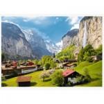 Puzzle   Lauterbrunnen, Switzerland