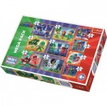 Mega Pack 10 Puzzles - PJ Masks