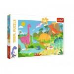Puzzle   Pièces XXL - Dinosaures