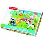Puzzle   Pièces XXL - Mattel Fisher-Price