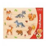 Puzzle Cadre - Animaux de la Forêt