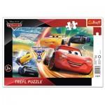 Puzzle Cadre - Cars