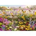 Wentworth-661706 Puzzle en Bois - Greg Giordano : Bird Bath Bonanza