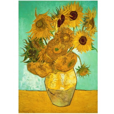 Wentworth-713704 Puzzle en Bois - Van Gogh - Sunflowers