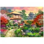 Wentworth-762205 Puzzle en Bois - Japanese Garden