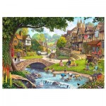 Wentworth-780308 Puzzle en Bois - Full Stream Ahead