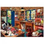 Wentworth-791902 Puzzle en Bois - Man Cave