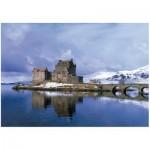 Wentworth-812705 Puzzle en Bois - Eilean Donan Castle