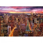 Wentworth-831705 Puzzle en Bois - Manhattan Skyline