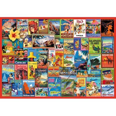 Wentworth-841705 Puzzle en Bois - Exotic Destinations