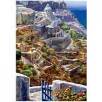 Puzzle en Bois - Above Santorini