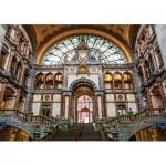 Puzzle en Bois - Antwerpen-Centraal Railway Station, Belgium