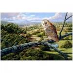 Puzzle en Bois - Barn Owl