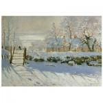 Puzzle en Bois - Claude Monet - La Pie