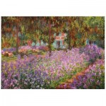 Puzzle en Bois - Claude Monet - The artist's garden in Giverny