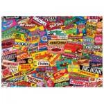 Puzzle en Bois - Crazy Candy