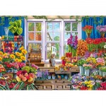 Puzzle en Bois - Flower Shop