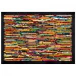 Puzzle en Bois - Pencil Collage