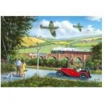 Puzzle en Bois - Spitfires