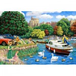 Puzzle en Bois - Windsor from the Thames