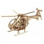 Puzzle 3D en Bois - Hélicoptère