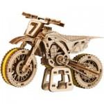 Puzzle 3D en Bois - Motocross