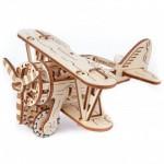 Puzzle 3D en Bois - Biplane