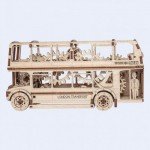 Puzzle 3D en Bois - London Bus