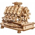 Puzzle 3D en Bois - Moteur V8