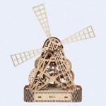 Puzzle 3D en Bois - Moulin