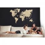 Puzzle en Bois - Carte du Monde M