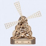 Wooden-City-WR307-8060 Puzzle 3D en Bois - Moulin