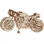 Wooden-City-WR340-8893 Puzzle 3D en Bois - Cafe Racer