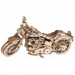 Wooden-City-WR342 Puzzle 3D en Bois - Cruisre V-Twin