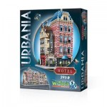 Wrebbit-3D-0501 Puzzle 3D - Collection Urbania - Hôtel