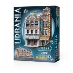 Wrebbit-3D-0502 Puzzle 3D - Collection Urbania - Cinéma