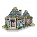 Wrebbit-3D-0512 Puzzle 3D - Harry Potter (TM) : La Cabane de Hagrid