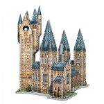 Wrebbit-3D-2015 Puzzle 3D - Harry Potter (TM) : Poudlard - Tour d'Astronomie