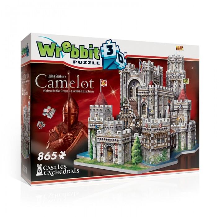 Puzzle 3D - Camelot, Château du Roi Arthur