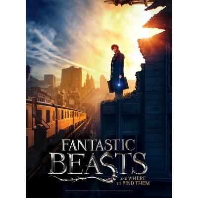 Wrebbit-3D-5006 Poster Puzzle - Fantastic Beasts - New York