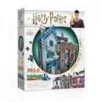 Puzzle 3D - Harry Potter - Ollivander Baguettes Magiques et Scribbulus
