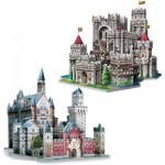 Wrebbit-Set-Castles 2 Puzzles 3D - Set Châteaux